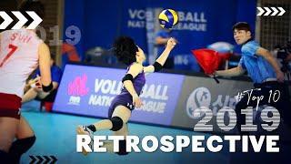 RETROSPECTIVE 2019: TOP 10 BEST Women's Volleyball Rally's in 2019 ● BrenoB ᴴᴰ