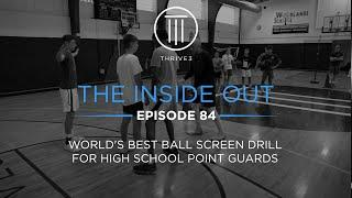 World's Best Ball Screen Drill for High School Point Guards