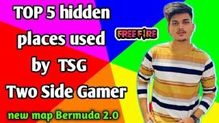 TOP 5 HIDDEN PLACES IN BERMUDA 2.0 II NEW HIDDEN PLACE AFTER UPDATE BY GAMING WITH AAKASH