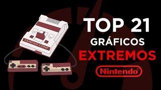 TOP 21 JUEGOS de MEJORES GRÁFICOS de NINTENDO NES  (FAMILY GAME - FAMICOM)