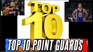 Trae Young to high? Who's number one? Top 10 NBA point guards