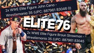 WWE ELITE SERIES 76 DETAILS! WRESTLEMANIA 35 ELITE FIGURES!