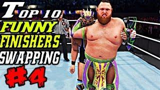 WWE 2K20 Funny Finishers Swapping Part 4! Top 10