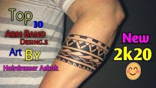 Top 10 Forearm Band Tattoo Desing || Tattoo Hand band Desing for Boy.s 2k20 || Best of 2k20