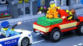Stop Stop Bad Guy, You Can't Escape!!! FAST AND FURIOUS - Top 10 Action Scene Lego Stop Motion