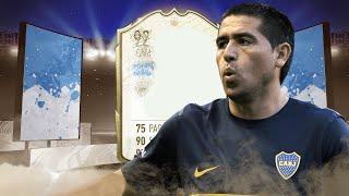 ICON MOMENTS SKILLER UNDER 800K !! FIFA 20 ICON MOMENTS RIQUELME PLAYER REVIEW
