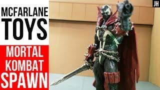 McFarlane Toys 2020 Mortal Kombat 11 Spawn Videogame Figure! LOTS OF POSING! SCALE! Image Toy Jawn!