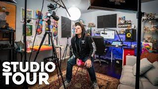 A Look Inside My Art/YouTube Studio (Studio Tour)