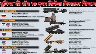 World's Top 10 Air Missile Defence System | Duniya ki Top 10 Sabse Achi Missile Defence System |
