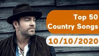 US Top 50 Country Songs (October 10, 2020)