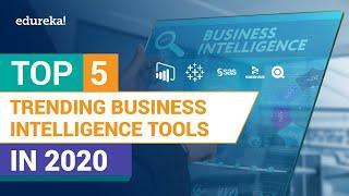 Top 5 BI Tools in 2020   Business Intelligence Tools   BI Tools   Edureka
