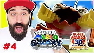 MARIO WATER KART & GROTE SLECHTE BADABOOM ?!?  | Super Mario Galaxy #4 | Super Mario 3D All-Stars