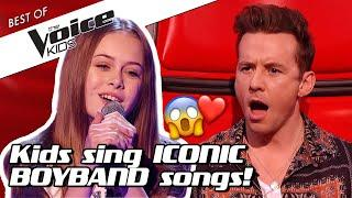 Top 10 | These BOYBAND COVERS will melt your heart in The Voice Kids