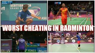 Top 5 most controversial umpire calls/cheating in badminton || Worst umpire decision ever part 1