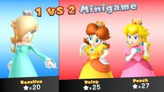 Mario Party 10 - Peach vs Rosalina vs Daisy - Whimsical Waters