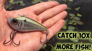 How To Catch 10x More Bass on Lipless Cranks!!!