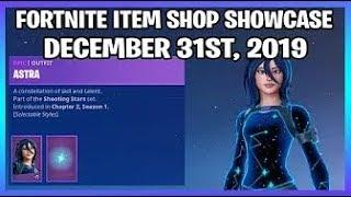 Fortnite Item Shop *NEW* ASTRA SKIN SET! [December 31st, 2019] (Fortnite Battle Royale)