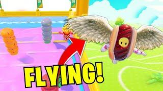 *NEW* OP FLYING TRICK! - Funny Fall Guys Moments & Top WTF Fail Gameplay Plays Ep.2