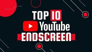 Top 10 YouTube Endscreen/Outro Template |Youtube end screen pack |FREE DOWNLOAD |ZGRAPHICS
