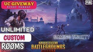 pubg custom room live | pubg live custom rooms | Pubg Mobile Live |  UC Giveaway Every Sunday