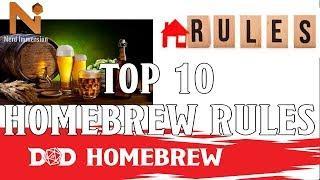 Top 10 D&D 5e Homebrew Rules | Nerd Immersion