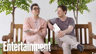 Dan Levy & Noah Reid On David & Patrick's Most Romantic Schitt's Creek Plots   Entertainment Weekly