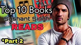 10 Books You Must Read | Life Changing Books Suggested by Sushant Singh Rajpoot [HINDI]