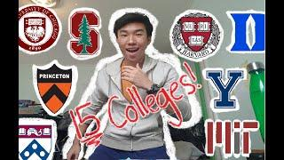 REJECTED FROM EVERY SCHOOL, EXCEPT DREAM SCHOOL?   College Decision Reaction 2020 (15+ Colleges)