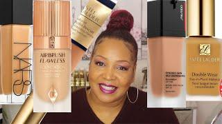 Top 5 Luxury Foundations That Are Worth Your Money | Mature Skin | Over40 | NeeCJae