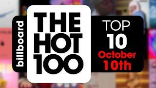 Early Release! Billboard Hot 100 Top 10 Singles  (October 10th, 2020) Countdown