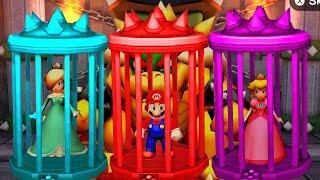 Mario Party The Top 100 MiniGames - Mario Vs Peach Vs Daisy Vs Rosalina (Master CPU)