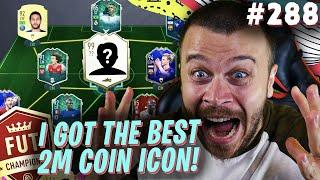 FIFA 20 I GOT THE BEST POSSIBLE 2 MILLION COIN ICON FOR FUT CHAMPIONS & BUILT MY NEW INSANE SQUAD!