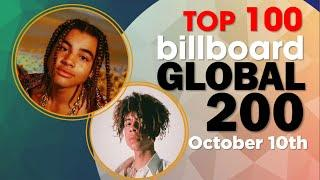 Billboard Global 200 - Top 100 Singles (October 10th, 2020)