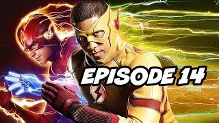 The Flash Season 6 Episode 14 Wally West Flash - TOP 10 WTF and Easter Eggs