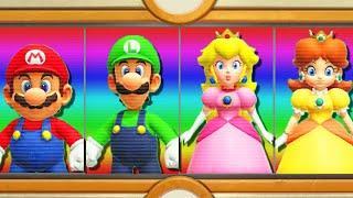 Super Mario Party - Mario vs Peach vs Luigi vs Daisy (Master Difficulty)