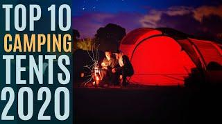Top 10: Best Camping Tents 2020 / Large Family Camping Tent for 4/8 Person / Outdoor Tent