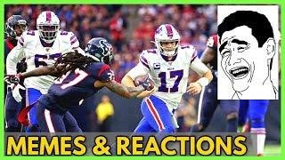 Buffalo Bills vs Houston Texans 2020 NFL Playoffs (Memes & Reactions) of post full game highlights