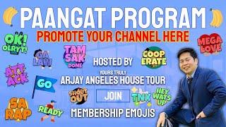 PAANGAT PROGRAM | 20 WINNERS OF 10HRS WH | LIVE | PROMOTE YOUR CHANNEL HERE