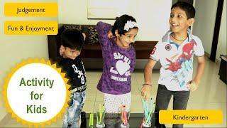 Activity for kids | Fun games | Kindergarten games | preschool kids |party games