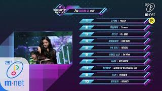 What are the TOP10 Songs in 4th week of February? M COUNTDOWN 200227 EP.654