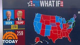 Biden Leads Trump 51-46 Percent In Battleground States, Chuck Todd Says | TODAY
