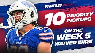Top 10 Waiver Wire Pickups for Week 5 (2021 Fantasy Football)
