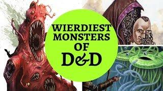 TOP 10 WEIRD D&D MONSTERS
