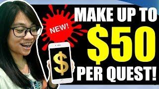 New! Earn Up to $50 Free Money per Quest, Simple Tasks, Activities, Bounties and Surveys!