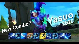 THE ULTIMATE YASUO MONTAGE Ep.4 - NEW COMBO? Best Yasuo Plays 2020 ( League of Legends ) 4K