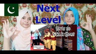Pakistani Girls reacts on Top 10 MOST Luxurious Trains in India | Be Amazed || Pakistani Reaction