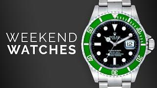 "Rolex Submariner ""Kermit"" & Omega Speedmaster Gold: Watches to Buy From Rolex, Omega, Patek Philippe"