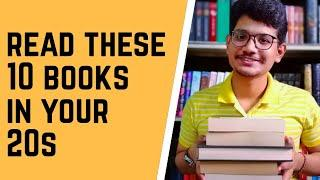 10 books to read in your 20s | Books that will change your life | The book dragon