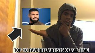 MY TOP 10 FAVORITE ARTISTS OF ALL TIME...