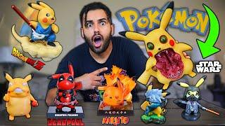 I Bought ALL THE POKEMON PIKACHU MASH-UP Anime Figures On WISH!! *INCLUDING NIGHTMARE FUEL POKEMON!*